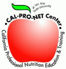 image of an apple, which is the CalProNET logo